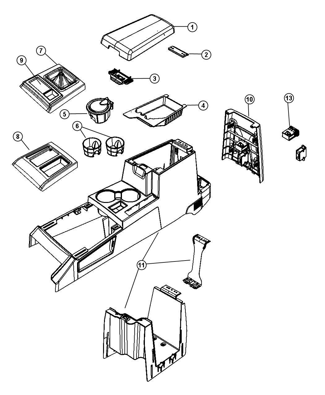 Jeep Wrangler Power Outlet Inverter Trim All Trim