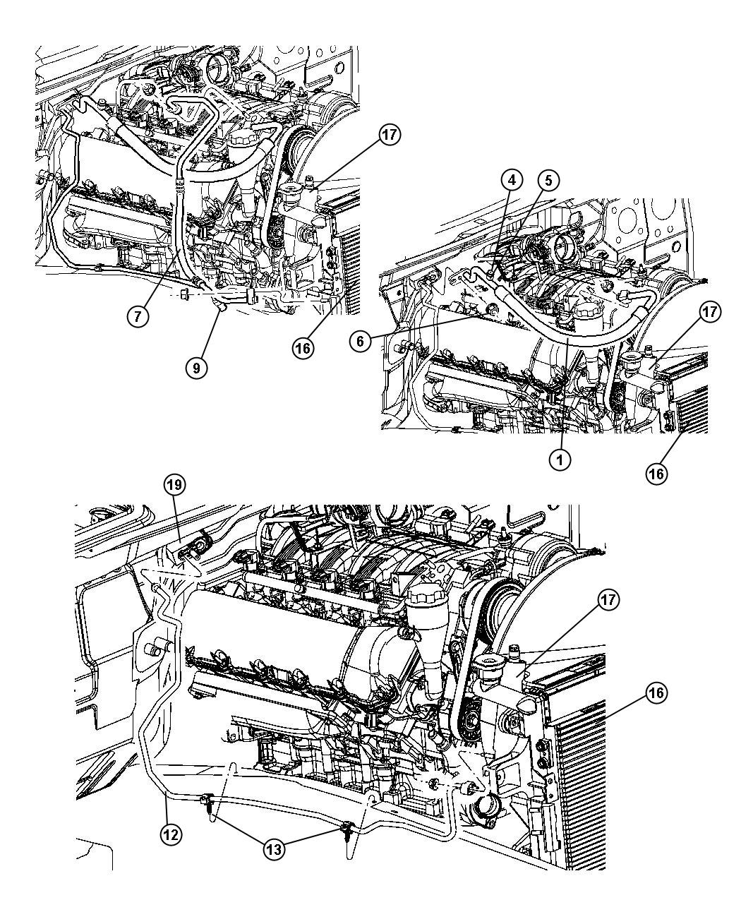 Jeep Grand Cherokee Transducer Valve A C Pressure
