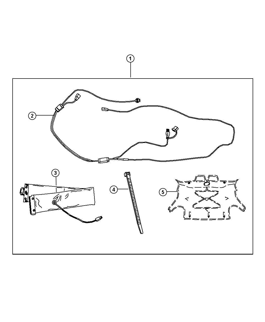 Dodge Ram Cord Engine Block Heater 3 Leg Cord For