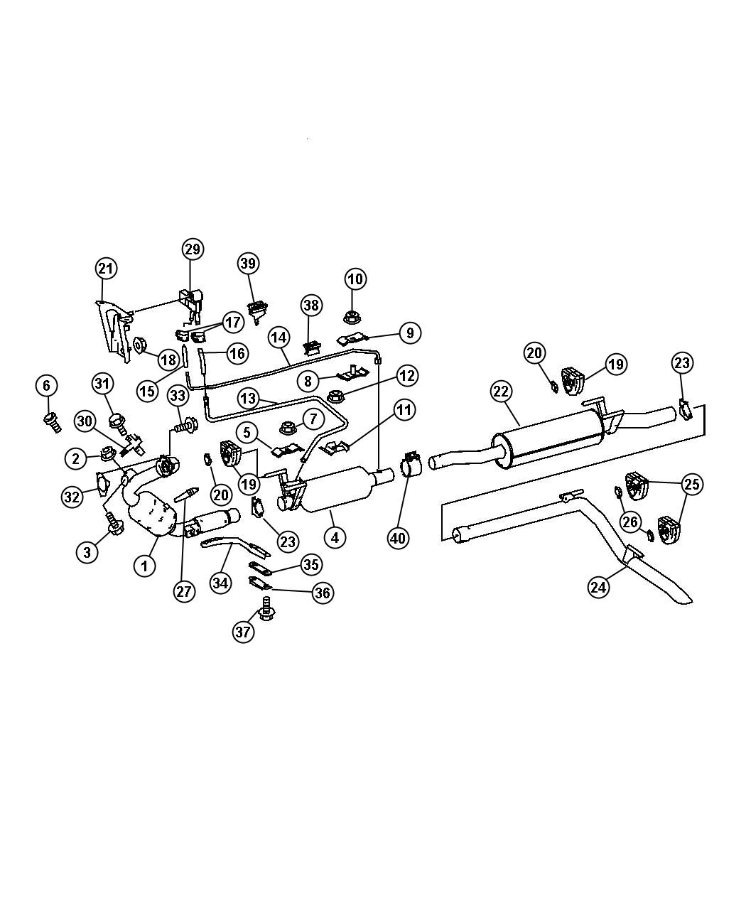 Dodge Filter Assysel Particulate Vanwagon