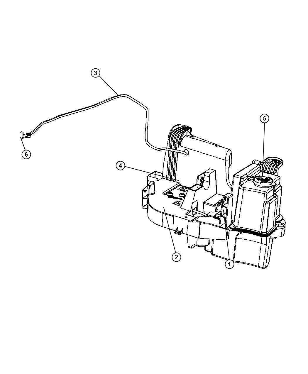 Chrysler 200 Pump Washer Windshield Wiperwasherheavy