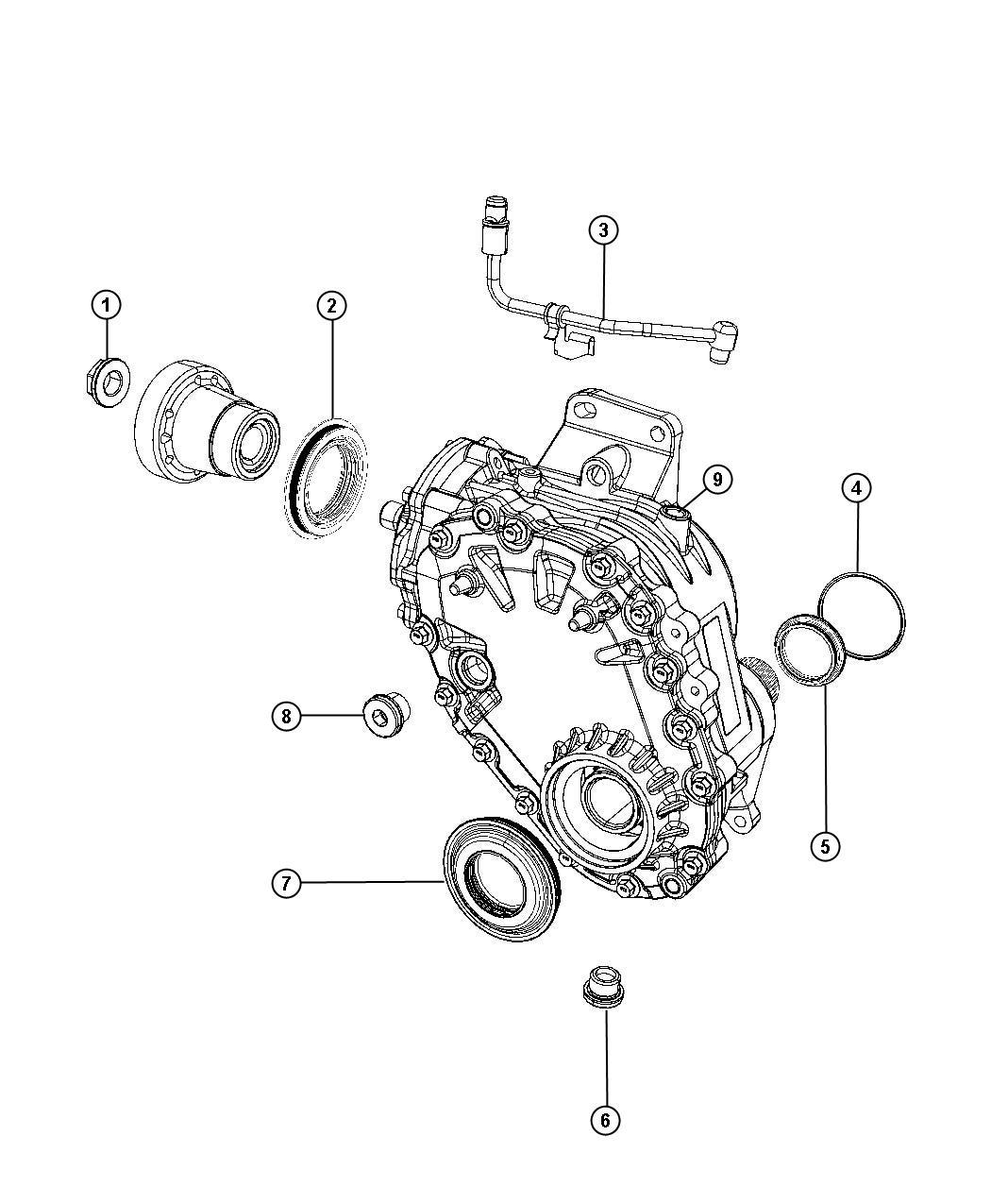 Dodge Journey Sxt Power Transfer Unit Repair Parts Awd