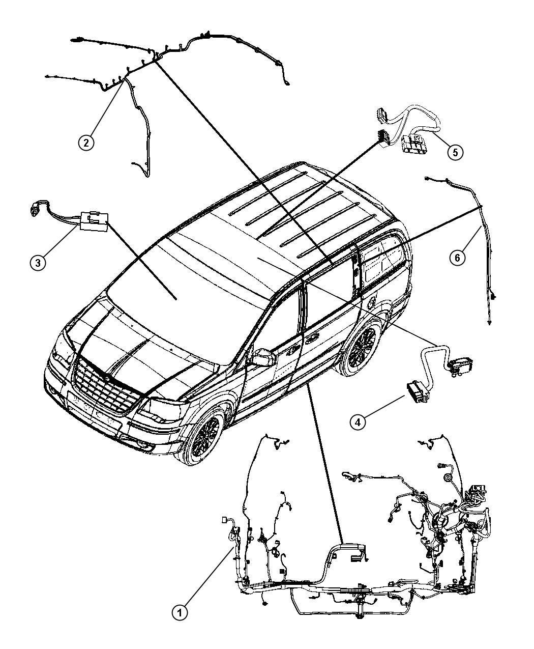 Dodge Grand Caravan Sliding Door Parts