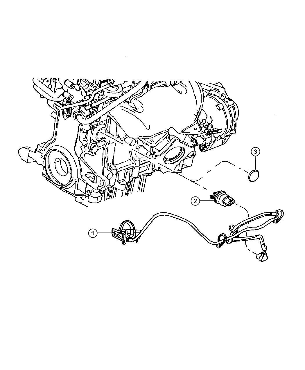 Chrysler Pt Cruiser Engine Cylinder Block Heater 2 4l