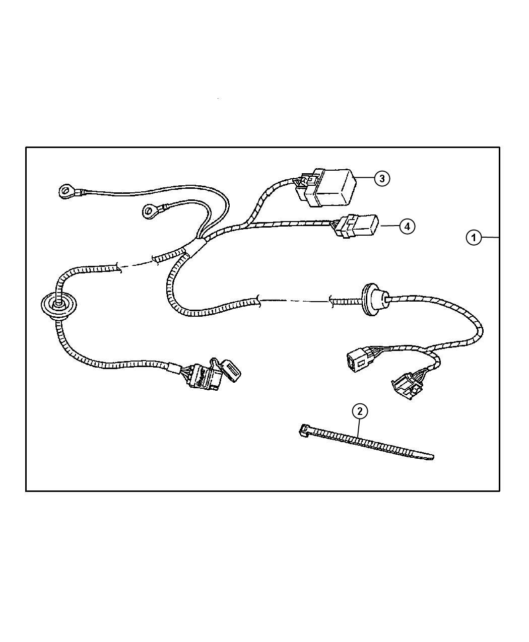 Jeep Grand Cherokee Wiring Kit Trailer Tow
