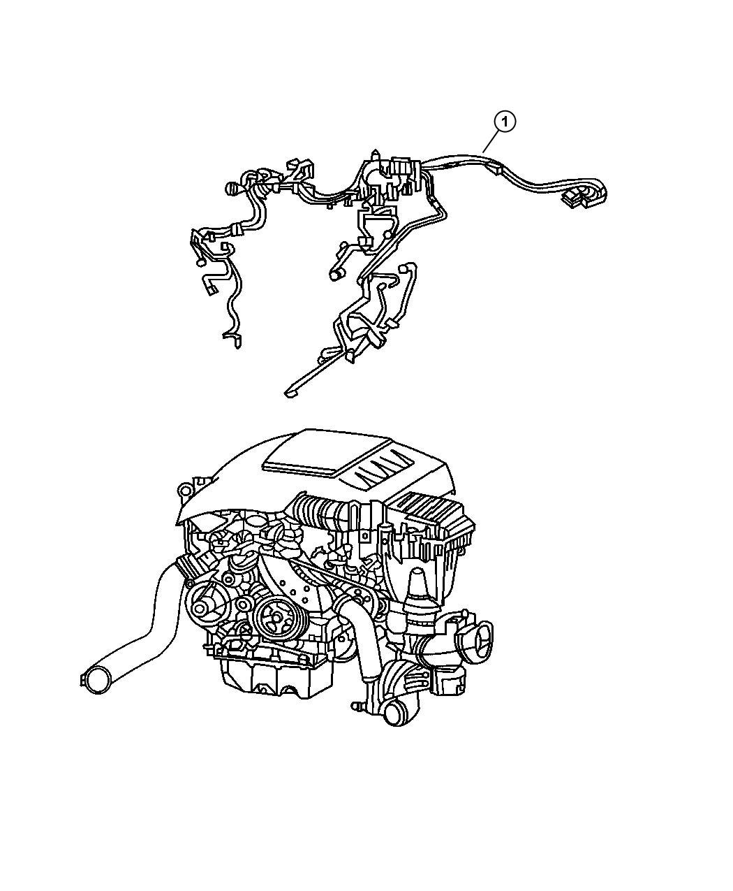 Jeep Grand Cherokee Wiring Engine Tag A 642 150 88