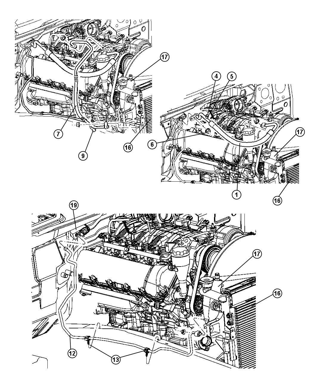 Jeep Grand Cherokee Valve A C Pressure Transducer