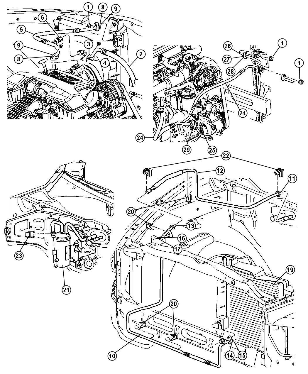 Dodge Ram Heater Core