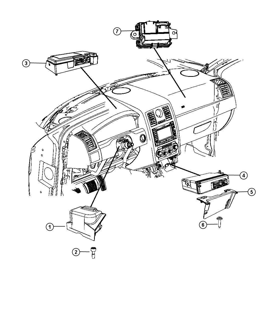 Dodge Charger Module Vehicle Systems Interface Police