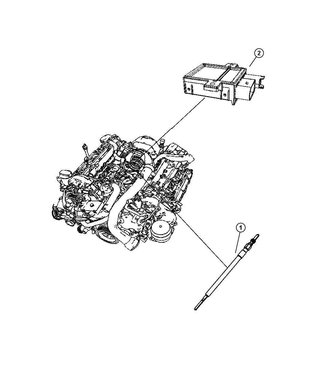 Dodge Sprinter Module Glow Plug