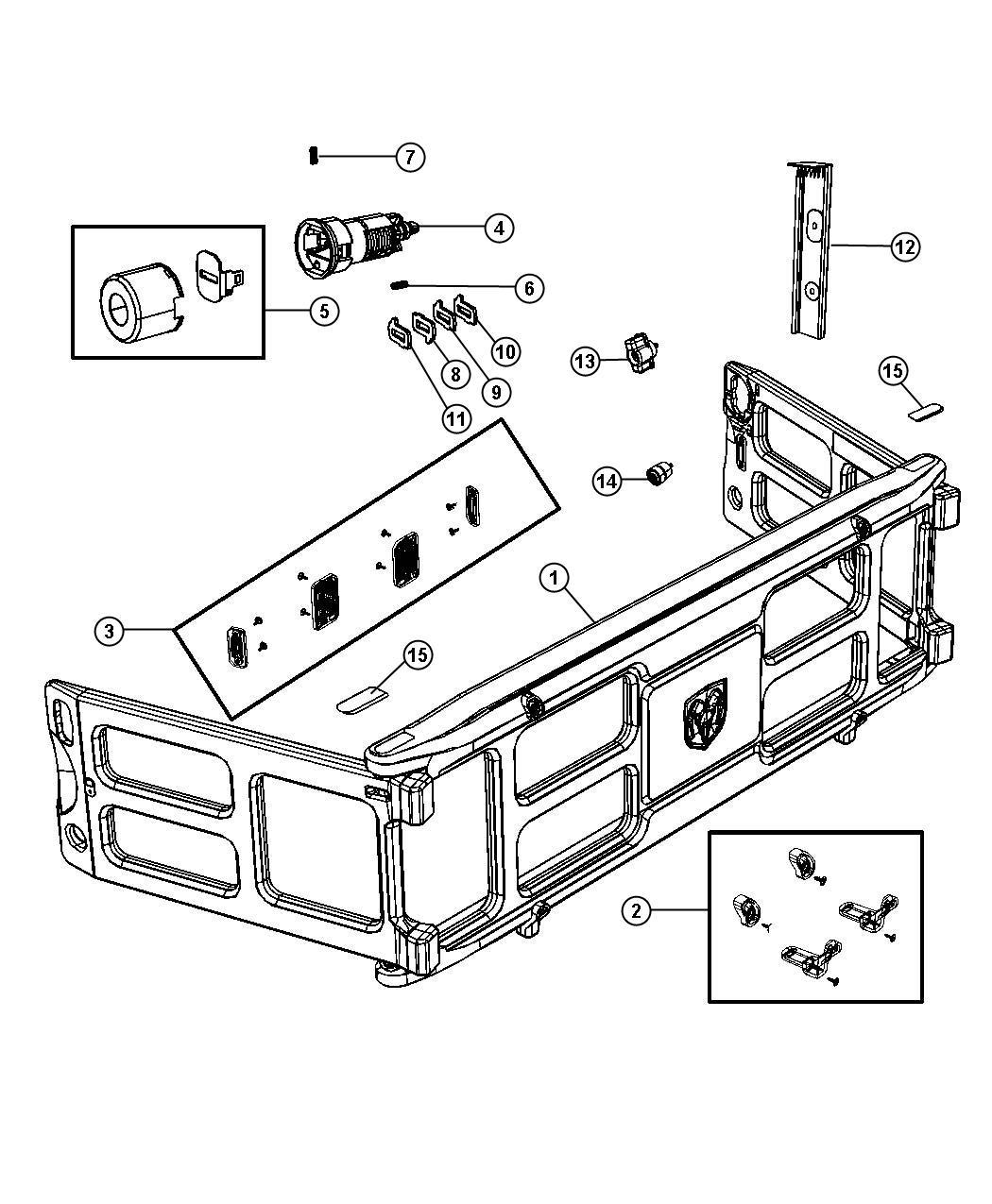 Dodge Ram Bumper Kit Truck Bed Divider Truck Bed