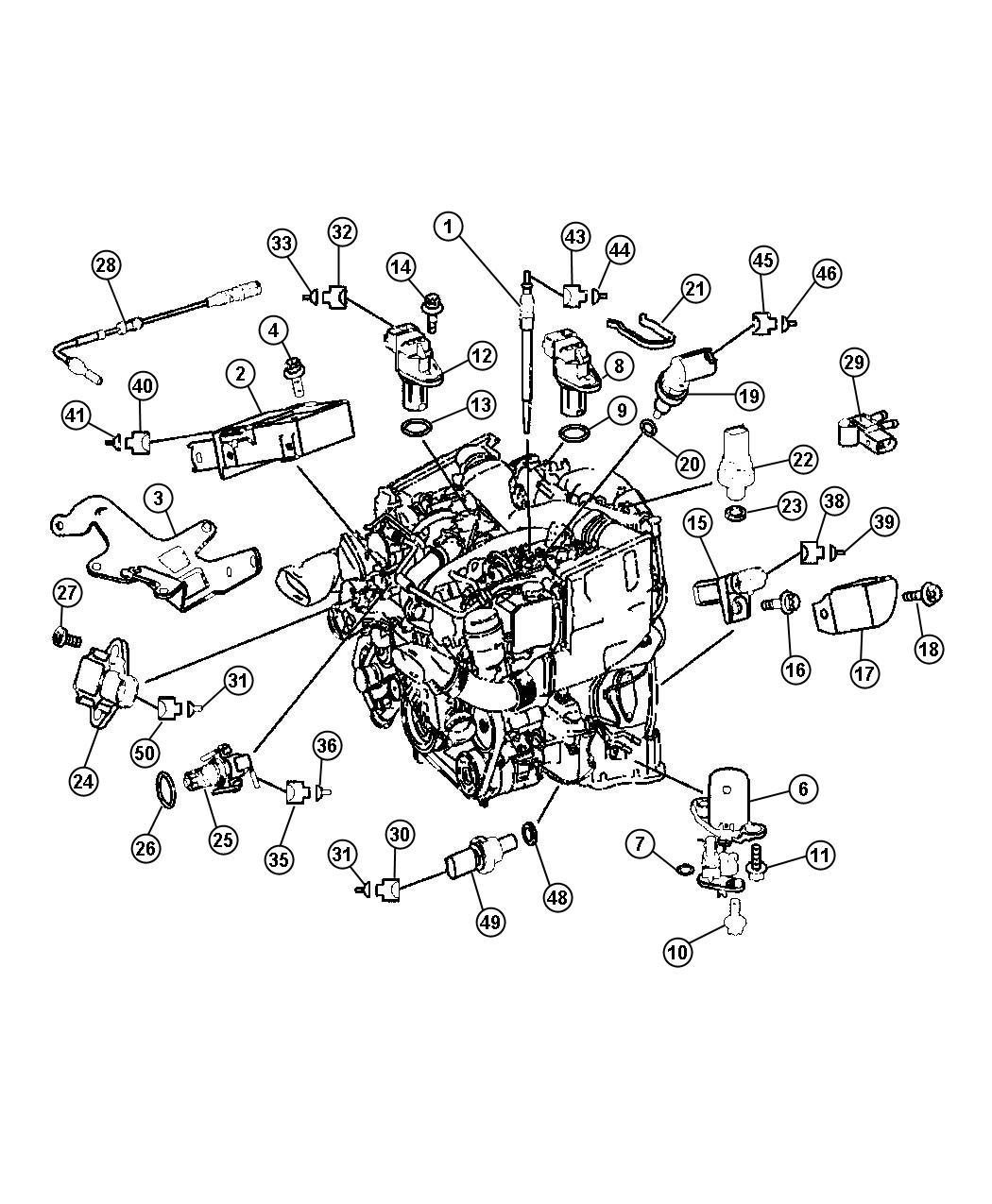 Dodge Sprinter Sensor Exhaust Back Pressure Fuel
