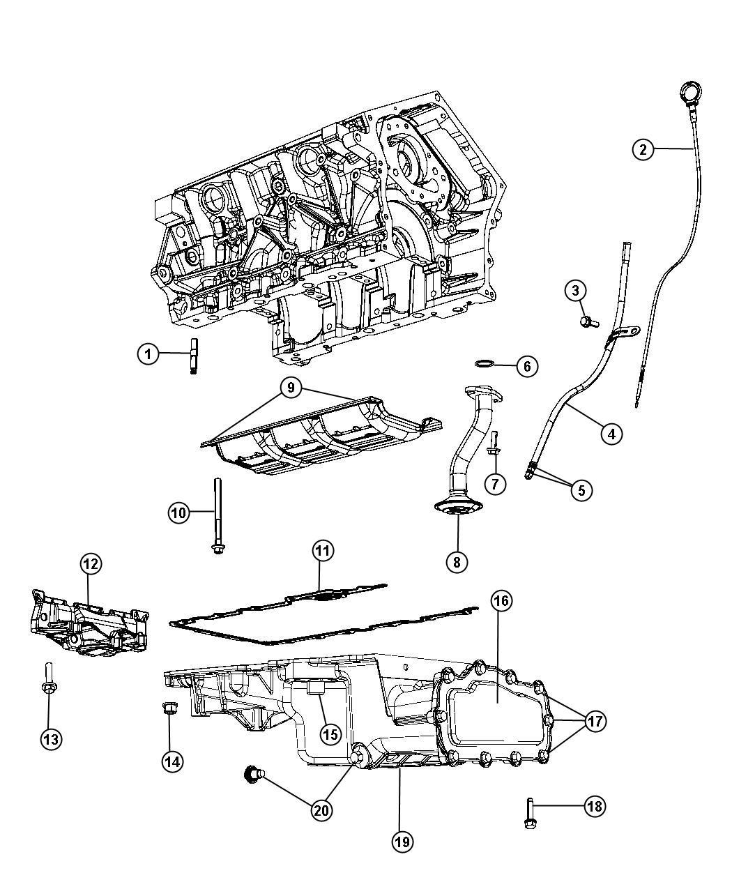Chrysler Engine Diagrams