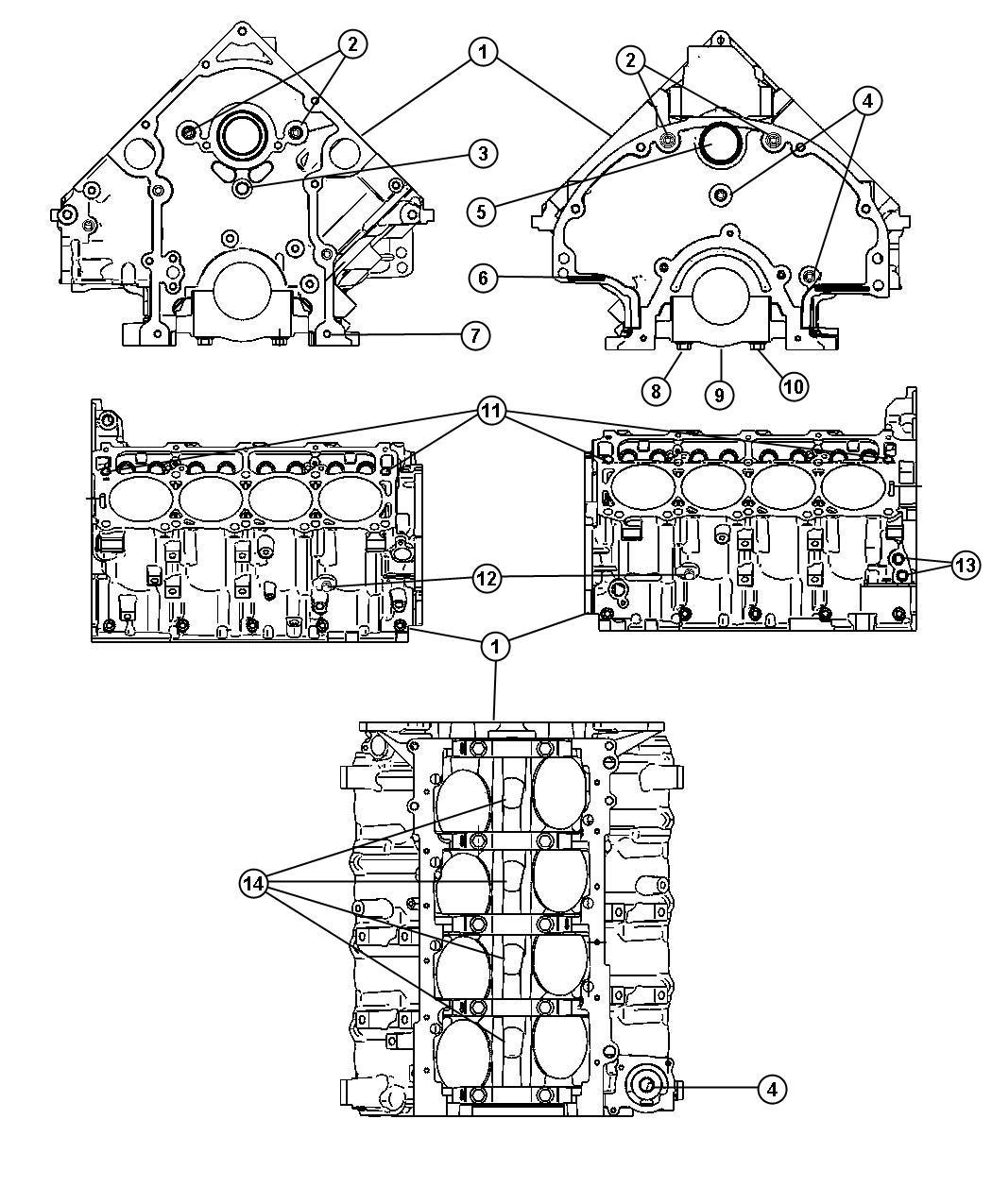 Jeep Grand Cherokee Plug Cylinder Block Mds Solenoid