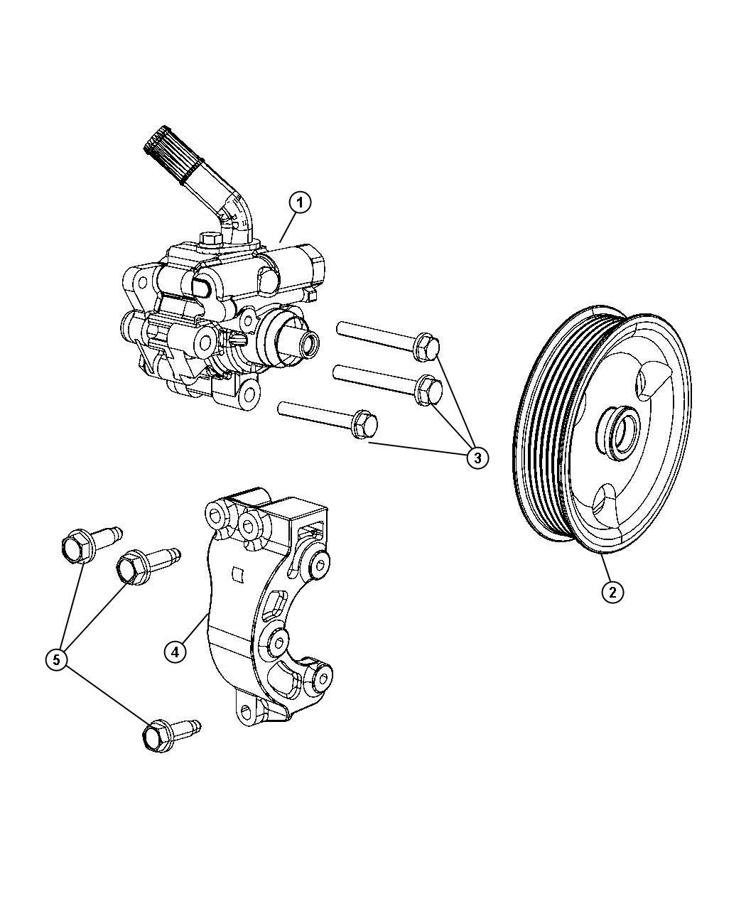 Jeep Grand Cherokee Pump Power Steering Sreering