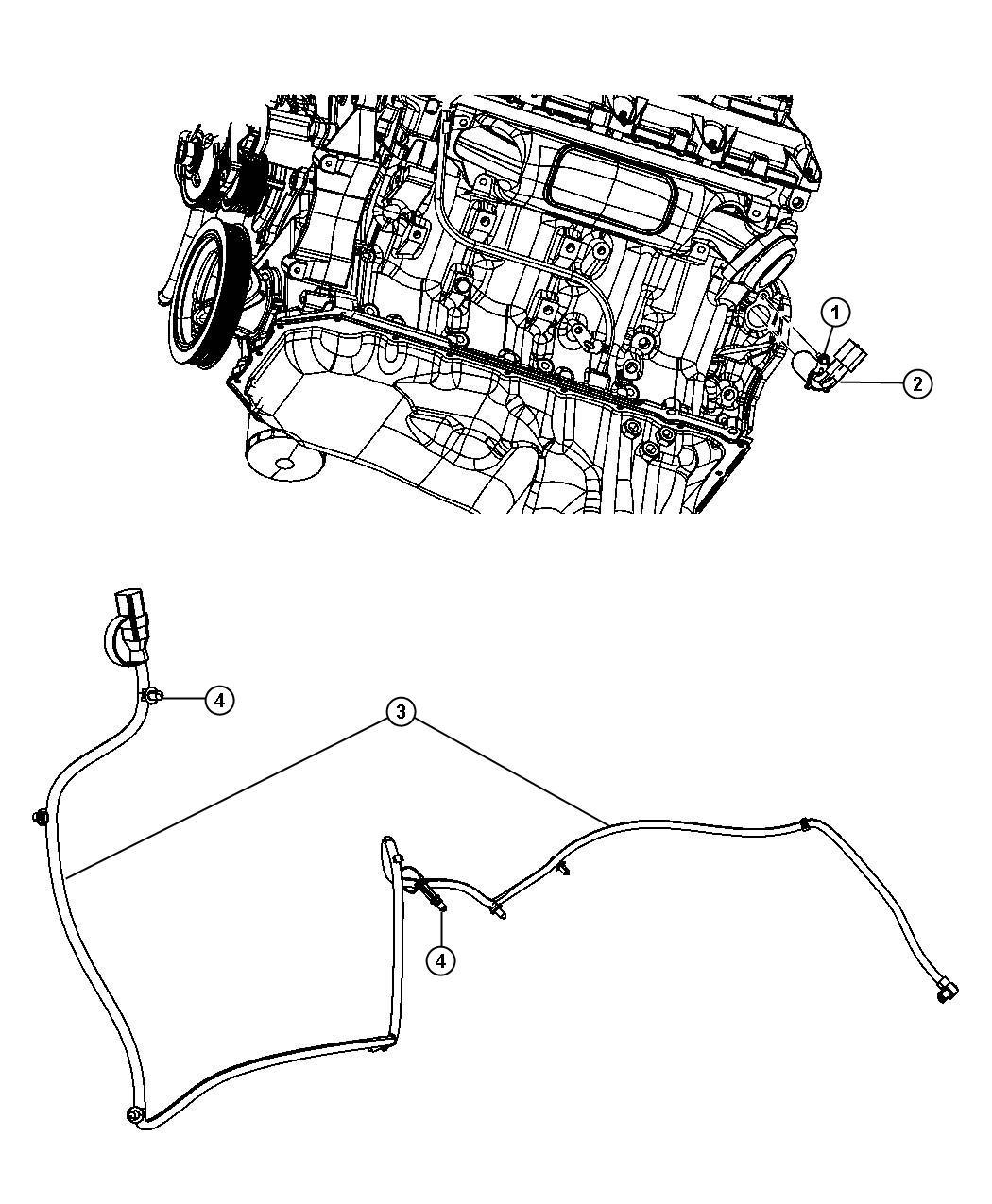 Dodge Ram Engine Cylinder Block Heater 5 7l Ezh