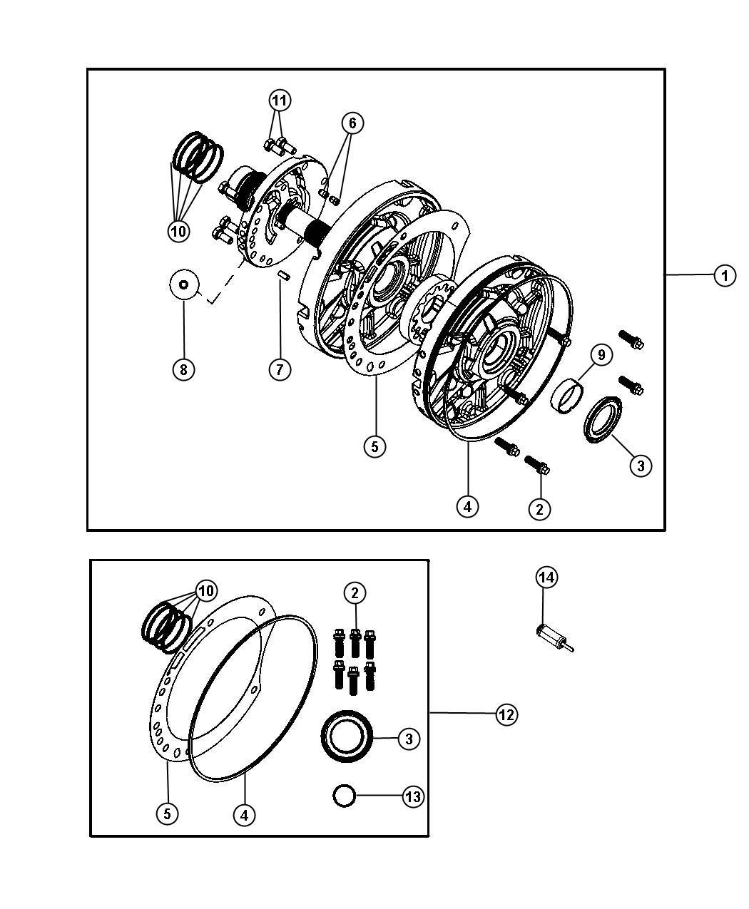 Jeep Wrangler Pump Pump Kit Transmission Oil Dgv