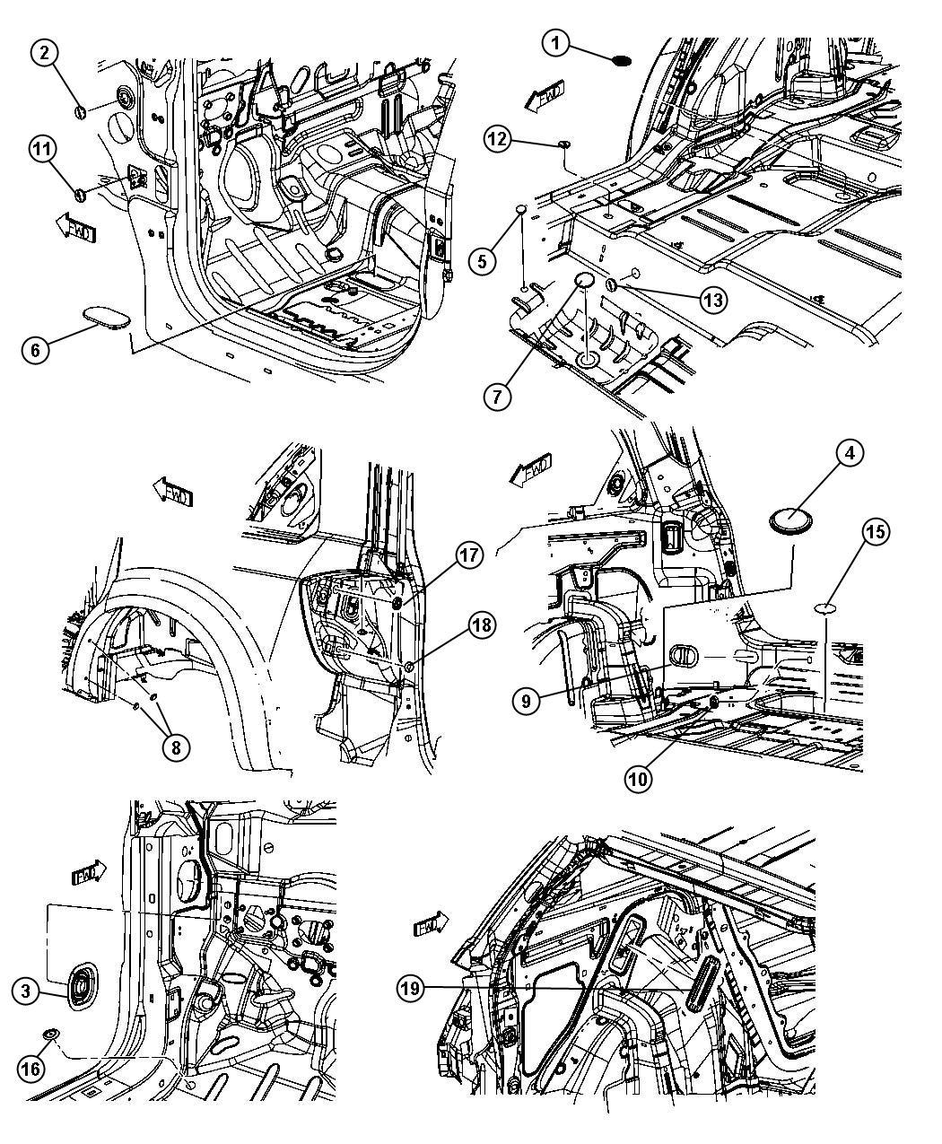 Chrysler 300 Exhauster Quarter Panel