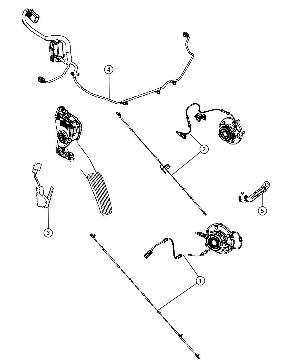 Chrysler Town Amp Country Wiring Abs Esp Harness Export