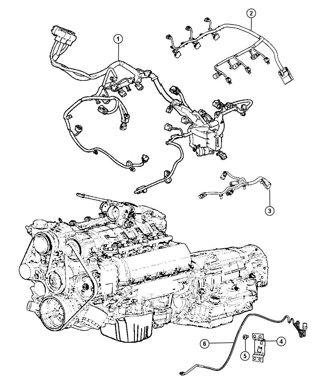 Dodge Grand Caravan Cord Engine Block Heater Nhk