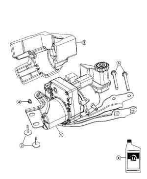 68059643AK  Chrysler Pump Power steering Nonsrt, resrvoir   Factory Chrysler Parts, Bartow Fl