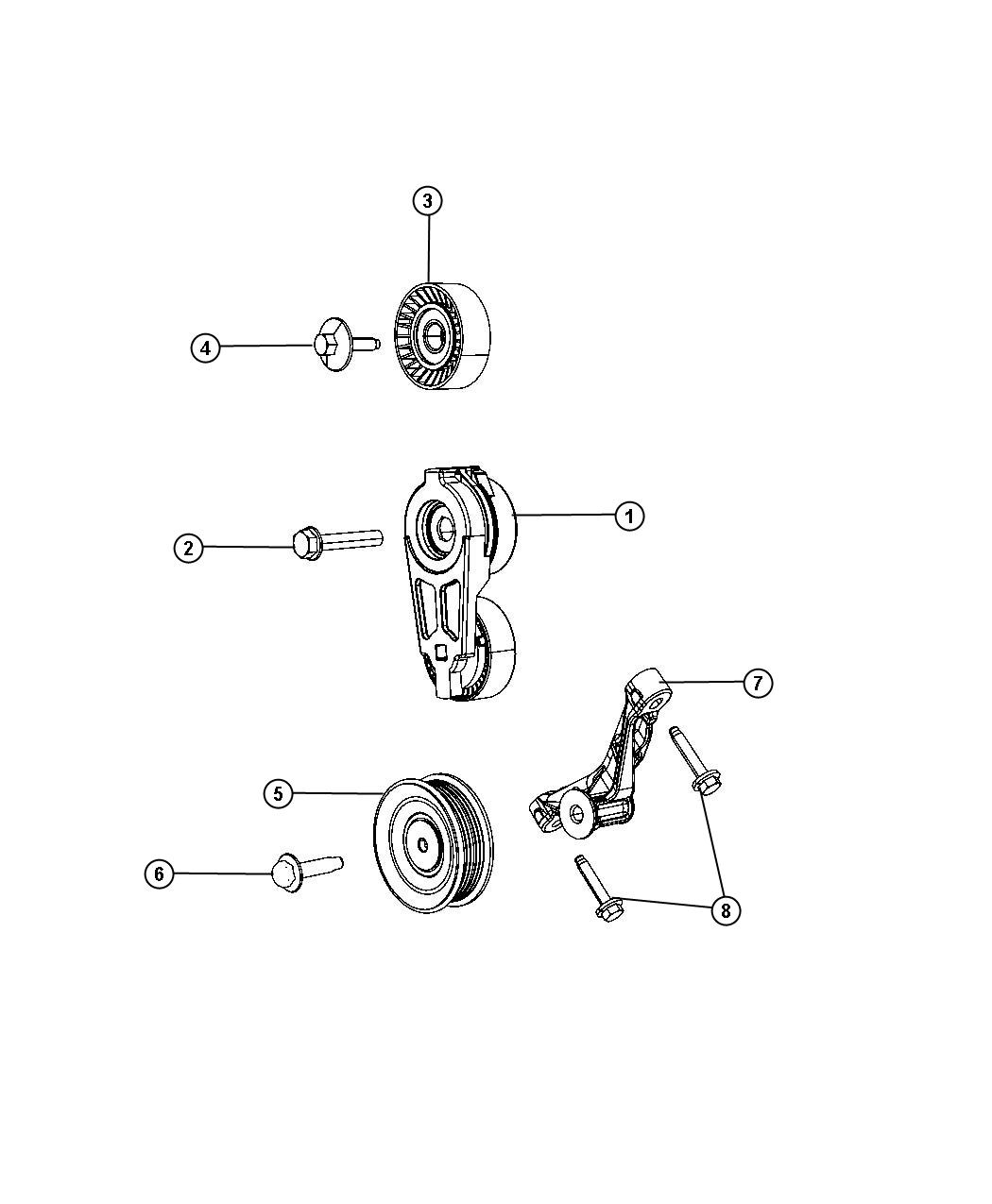 Pulley And Related Parts