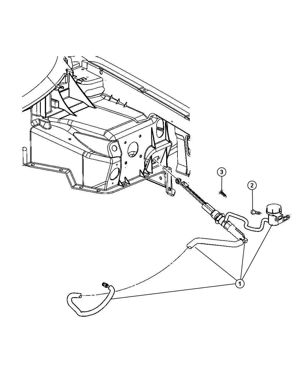 Dodge Viper Actuator Hydraulic Clutch Controlshydraulic