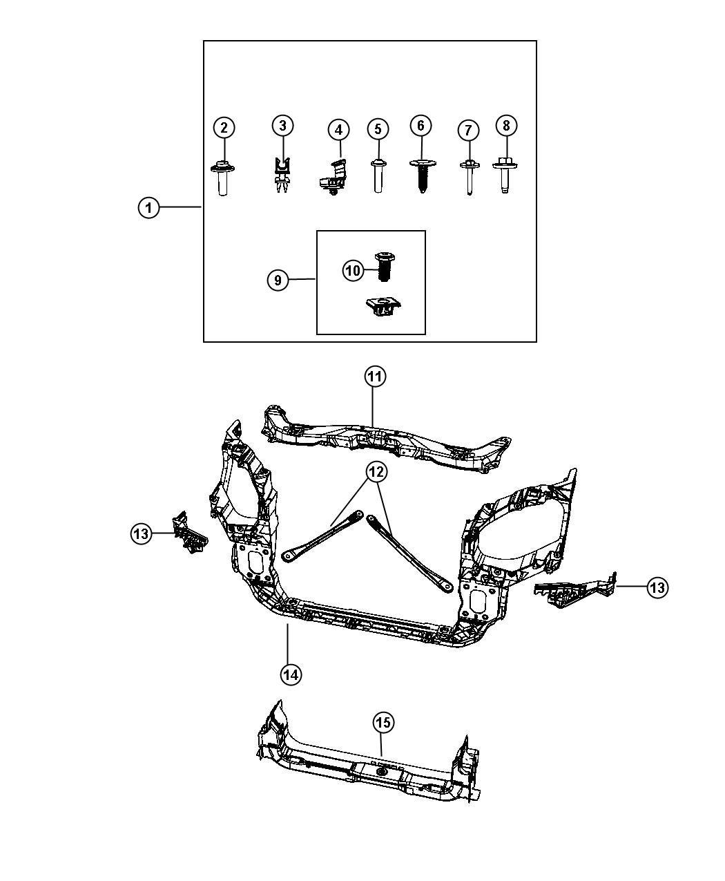 Fender To Radiator Brace Removal Dodge Dakota