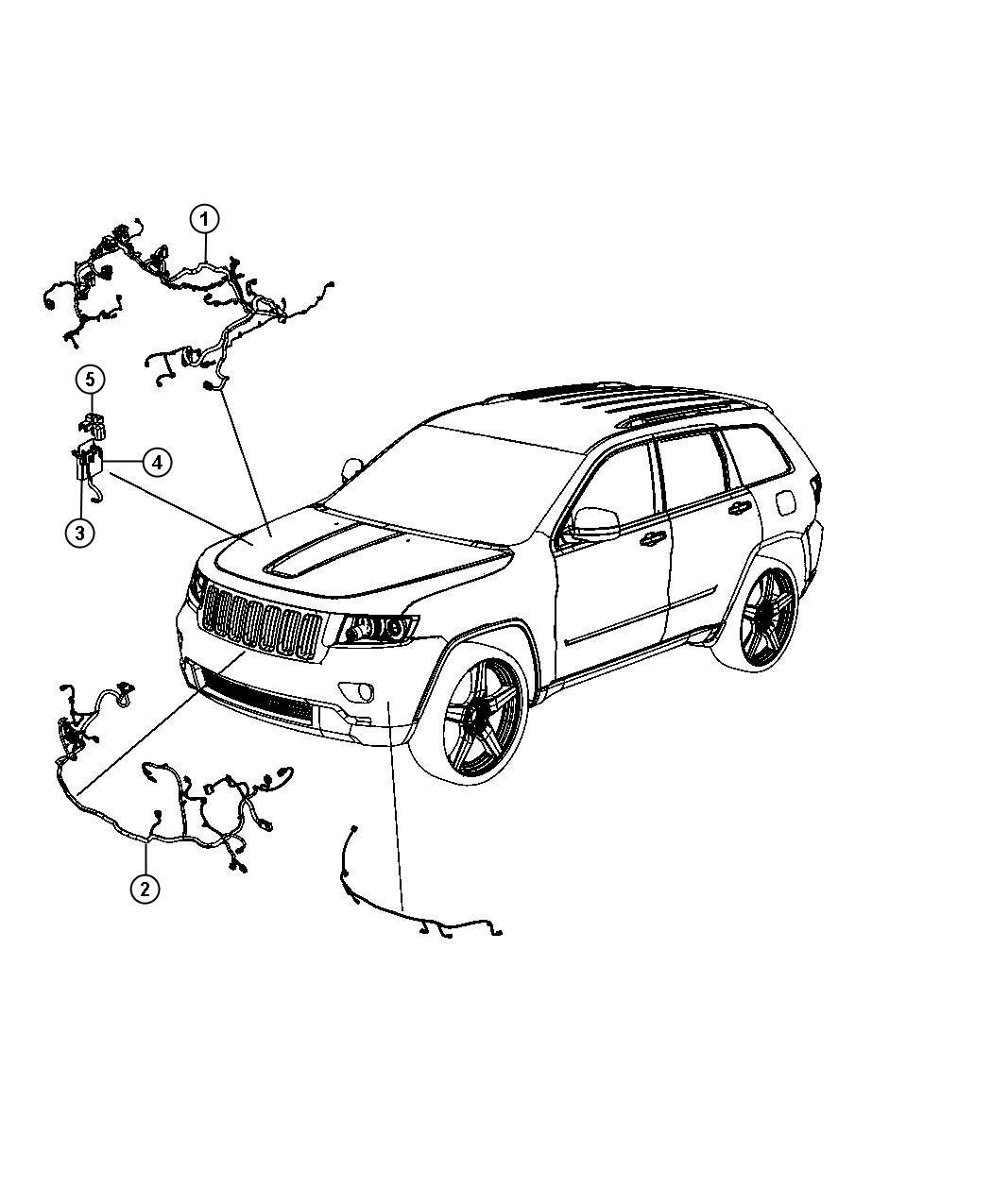 Jeep Grand Cherokee Wiring Headlamp To Dash Electro