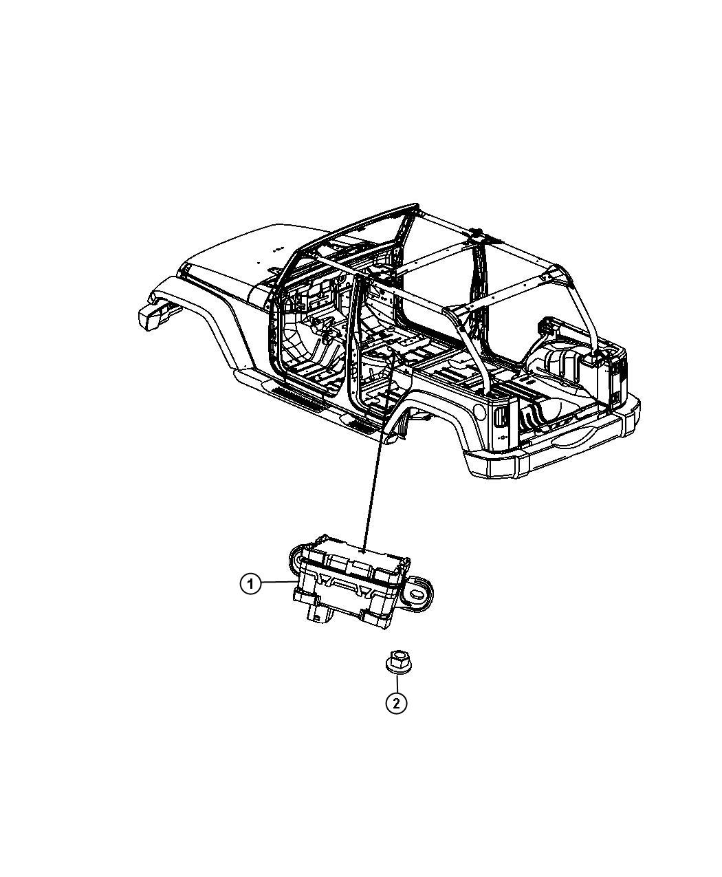 Jeep Wrangler Sensor Dynamics Lateral Acceleration And