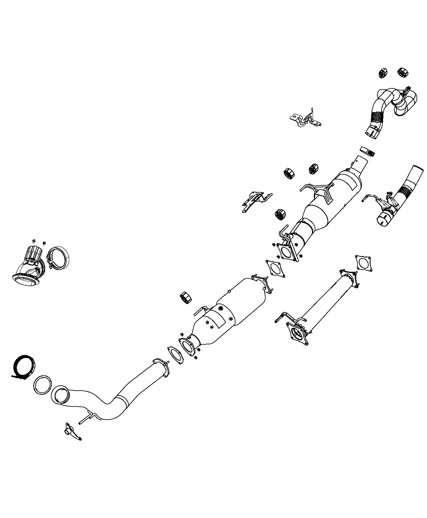 Dodge Ram Filter Assysel Particulate