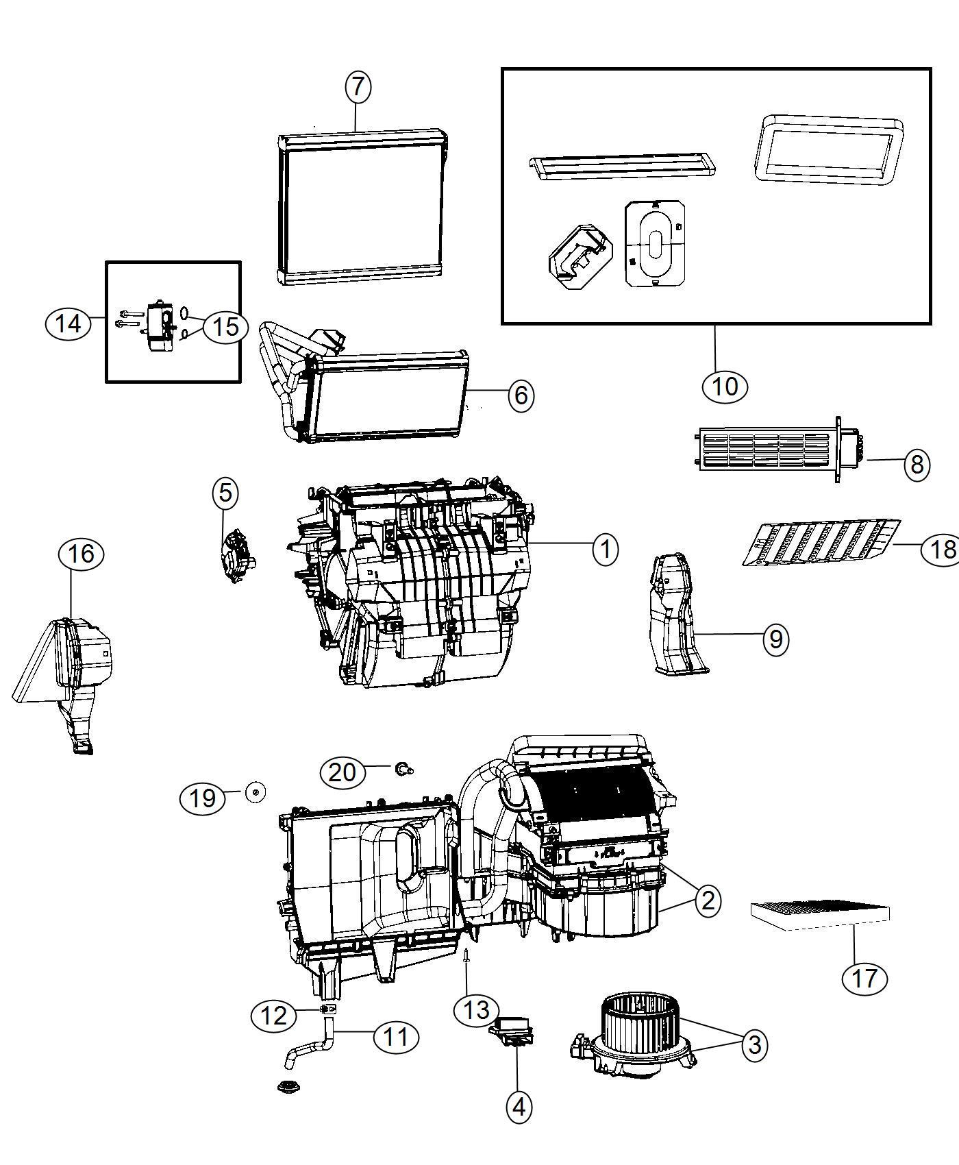Dodge Ram Filter Cabin Air