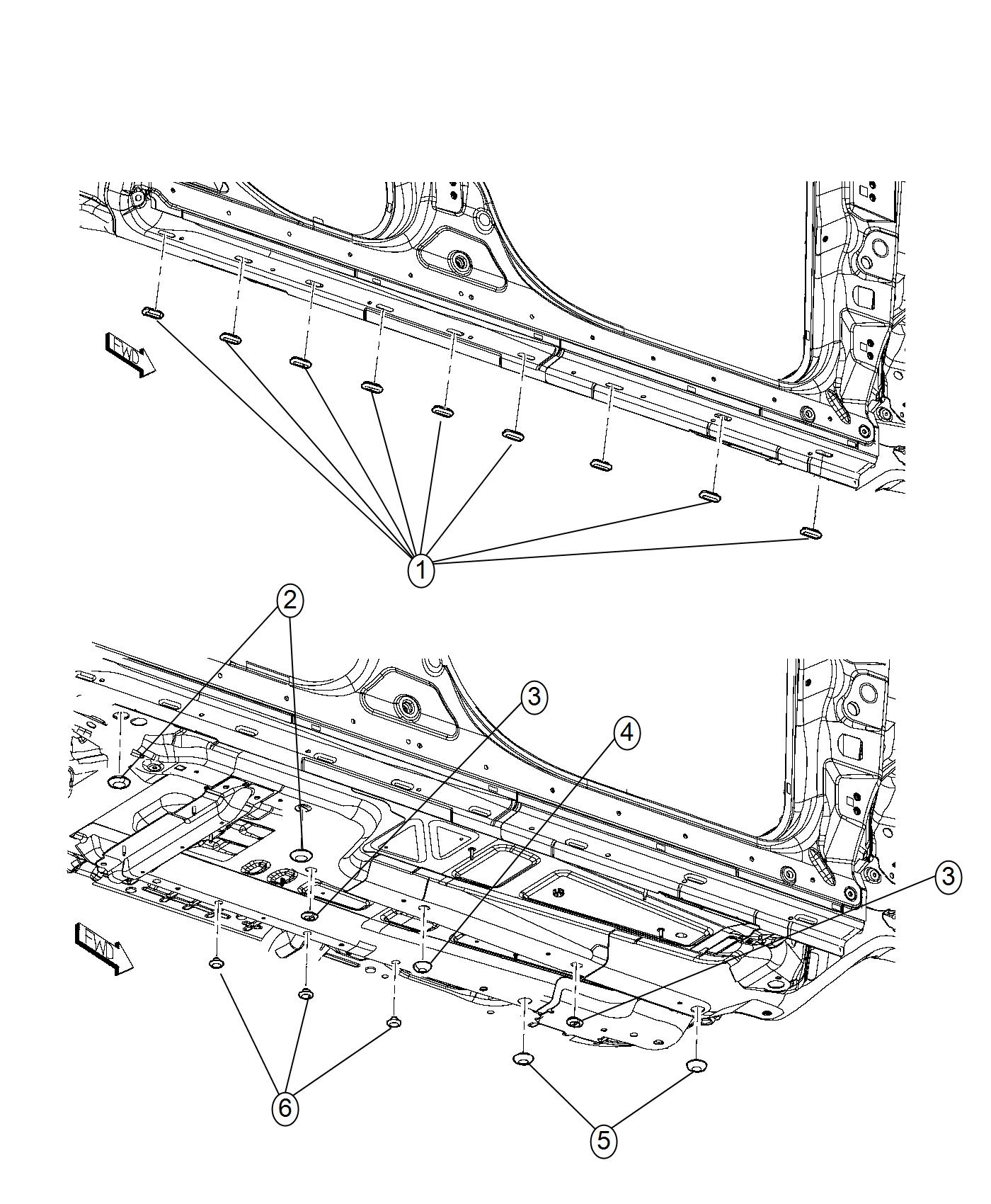 Jeep Cherokee Tape Right Or Left Body Side Aperture