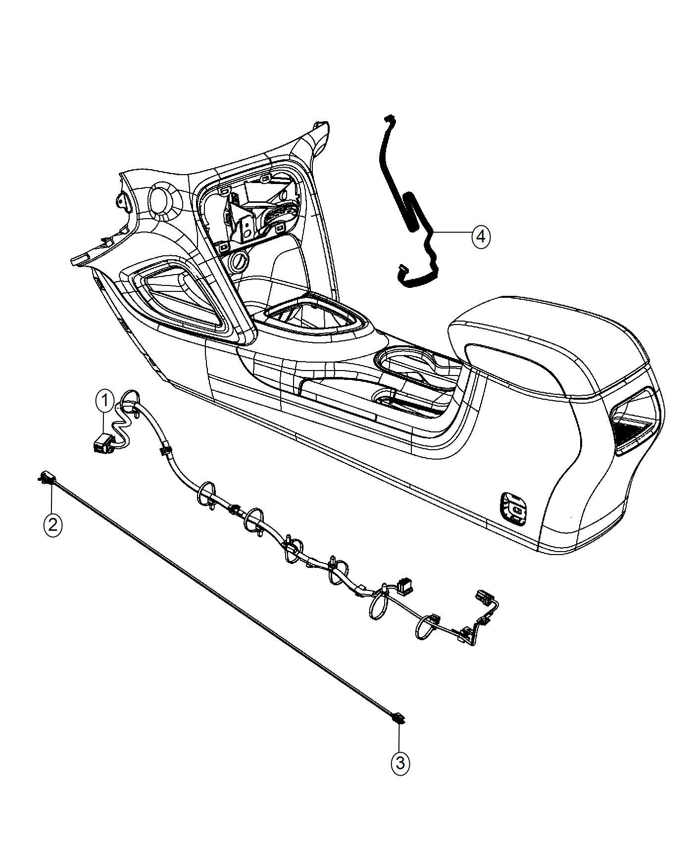 Dodge Dart Wiring Console Remote Cd Player 12v