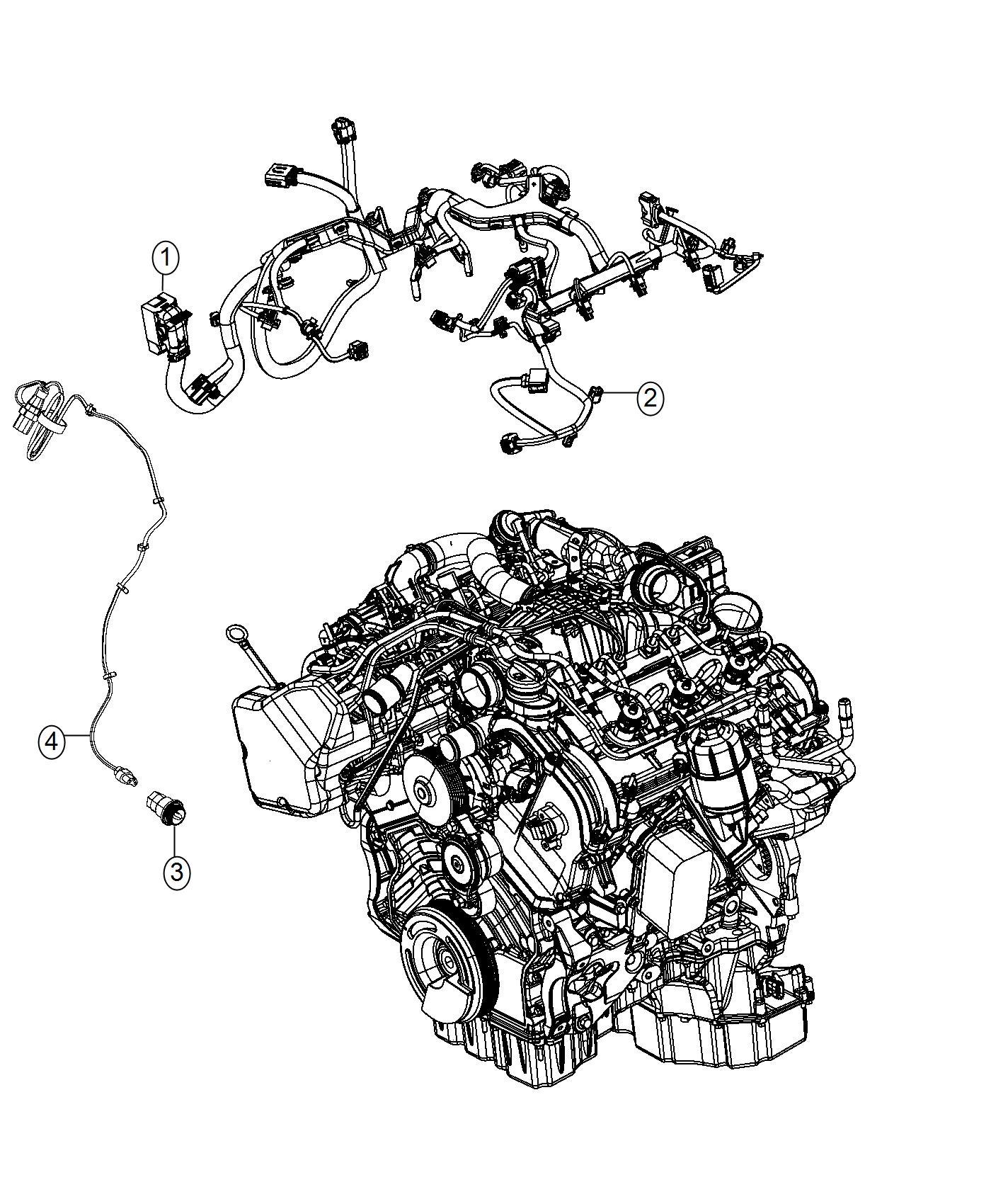 Jeep Grand Cherokee Cord Engine Block Heater Engine