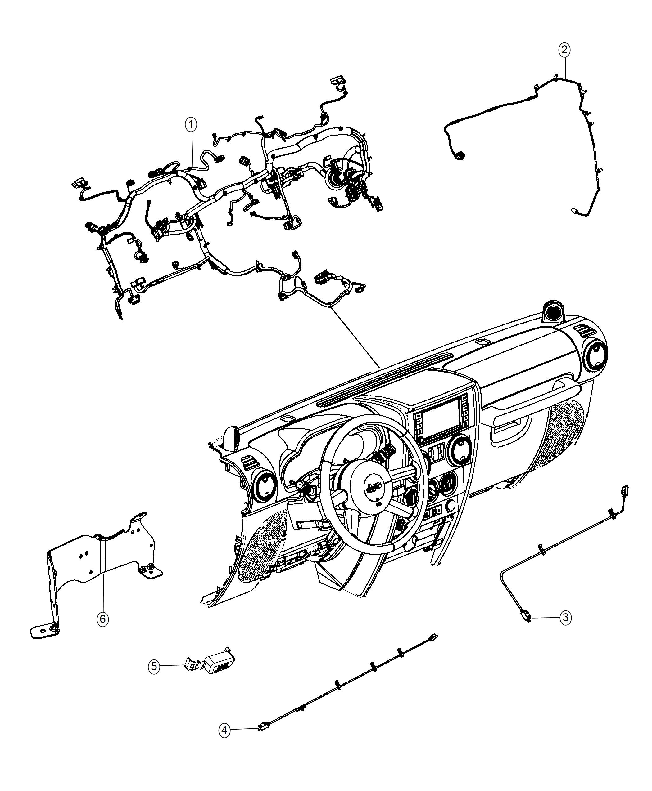 Diagram Jeep Wrangler Uconnect Wiring Diagram Full