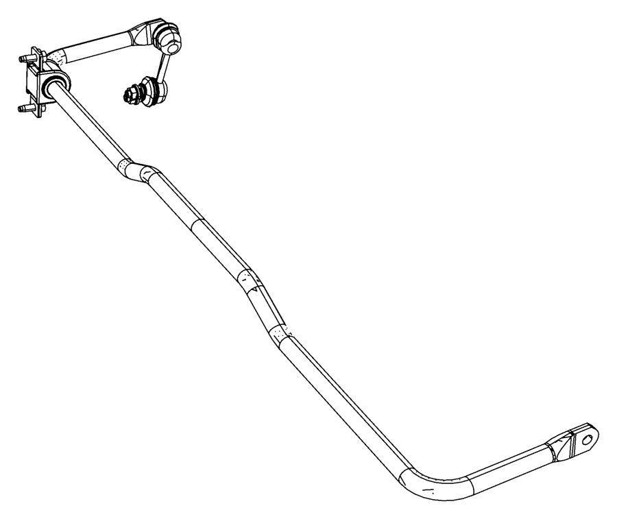 Dodge Avenger Stabilizer Bar Rear