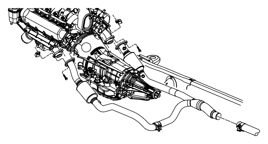 Exhaust System 5 7l Engine