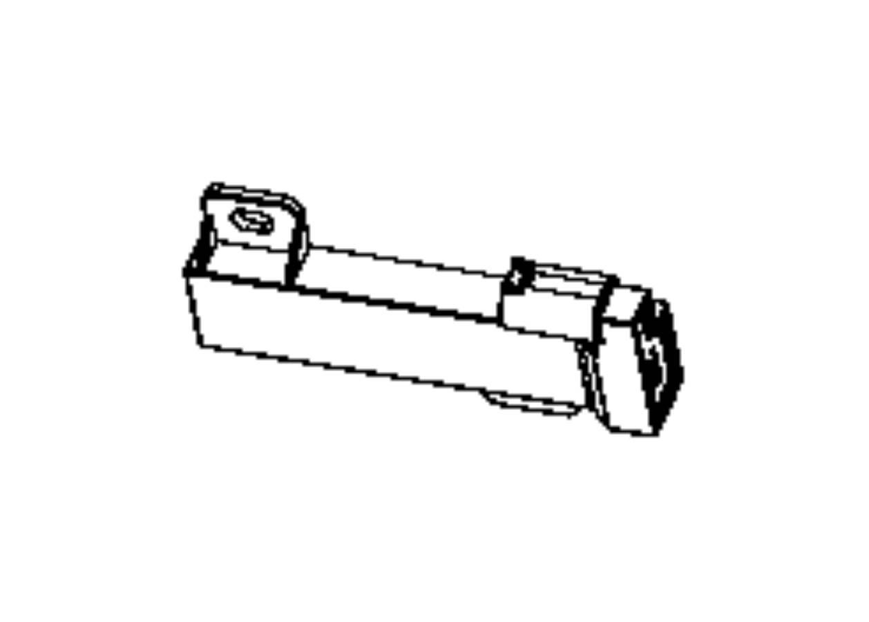 Dodge Durango Antenna Passive Entry Center Console Export Floor Console Left Left