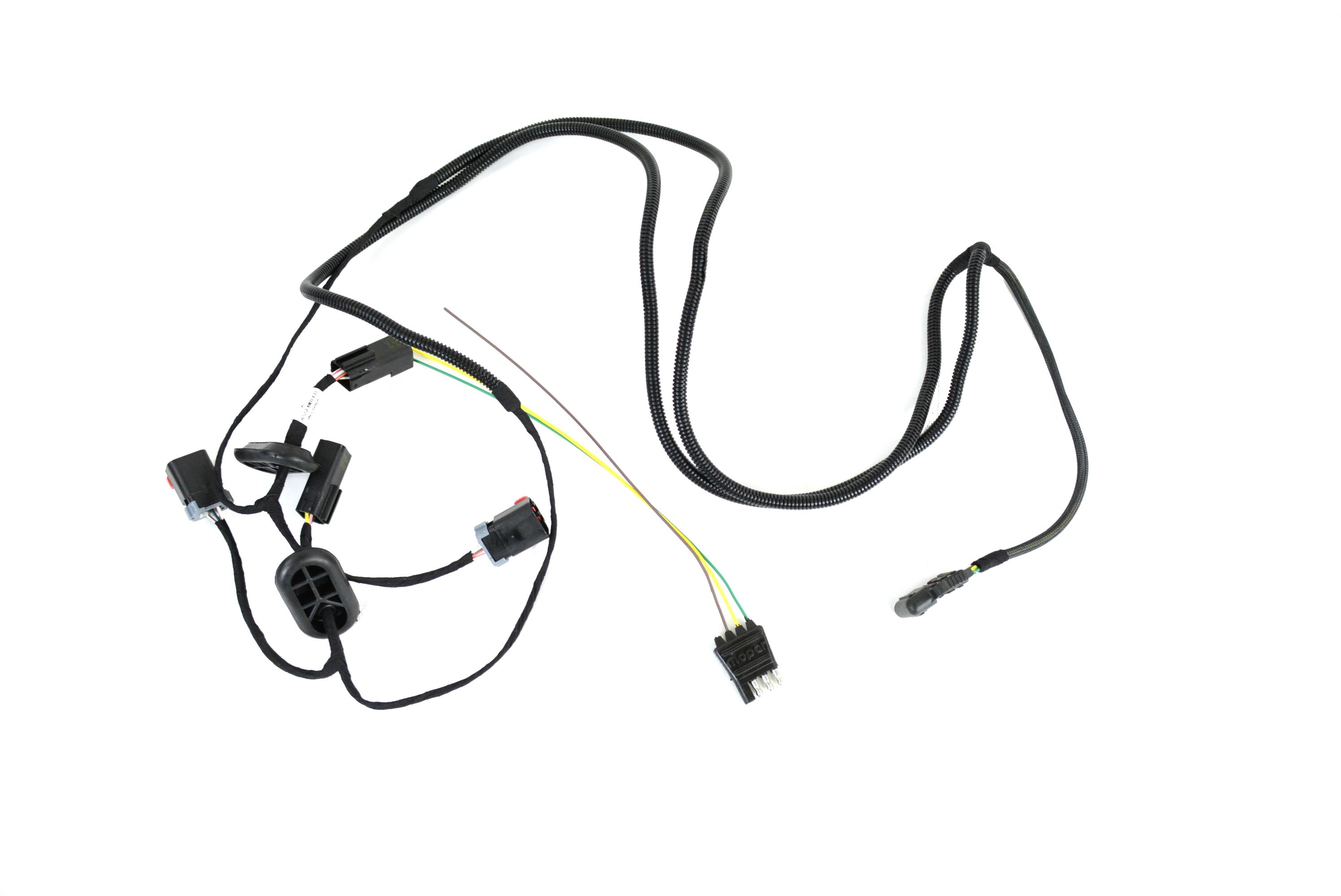 Chrysler Pacifica Trailer Tow Wiring Harness Kit With 4