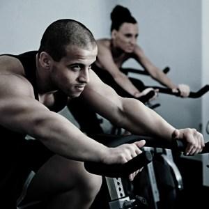 spin class workout