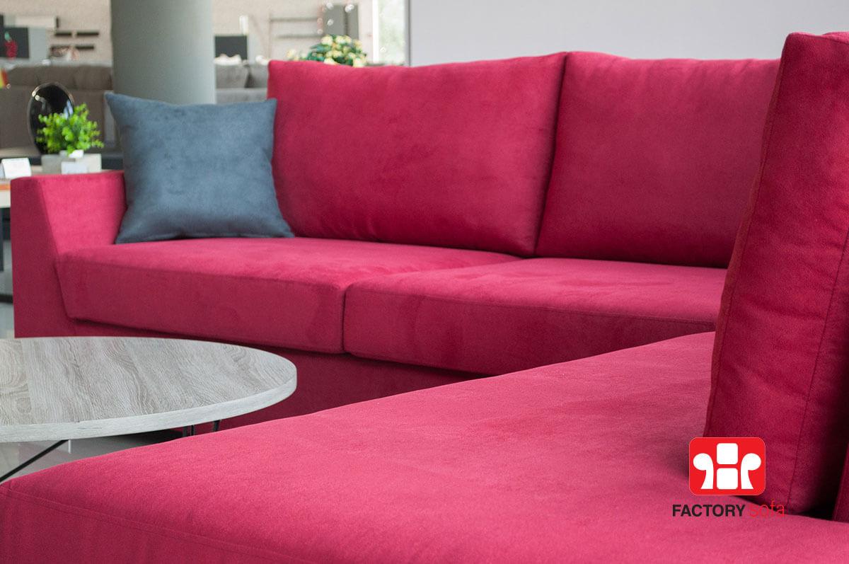 Γωνιακό Σαλόνι MILOS 3,00m x 2.50m. Διατίθεται με αδιάβροχο ύφασμα σε μεγάλη ποικιλία χρωμάτων & με δυνατότητα αλλαγής διάστασης & υφάσματος Mε την εγγύηση της Factory Sofa.