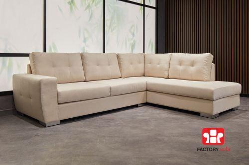 Σαλόνι γωνία Sitia   Σαλόνια Καναπέδες Factory Sofa