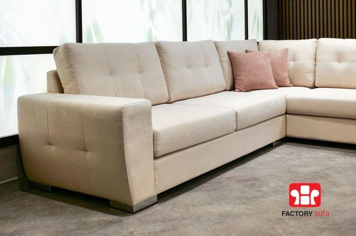 Σαλόνι γωνία Sitia | Σαλόνια Καναπέδες Factory Sofa