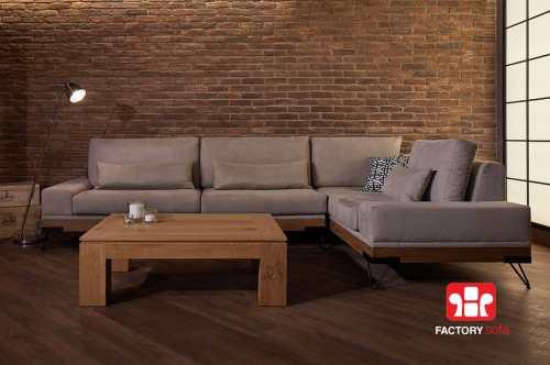 Σαλόνι Γωνία Chalki 3.00m x 2.50m | Σαλόνια Καναπέδες Factory Sofa Προσφορές