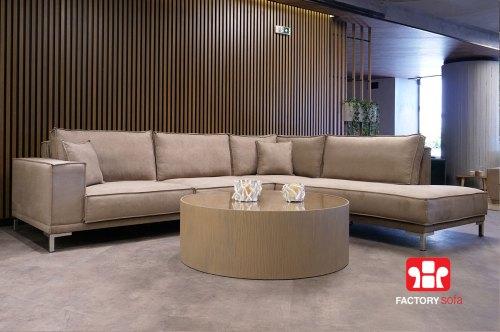 Γωνιακό Σαλόνι Thassos   Σαλόνια Καναπέδες Factory Sofa Προσφορές
