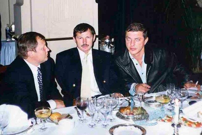 Вячеслав Шевченко и лидеры Тамбовской ОПГ