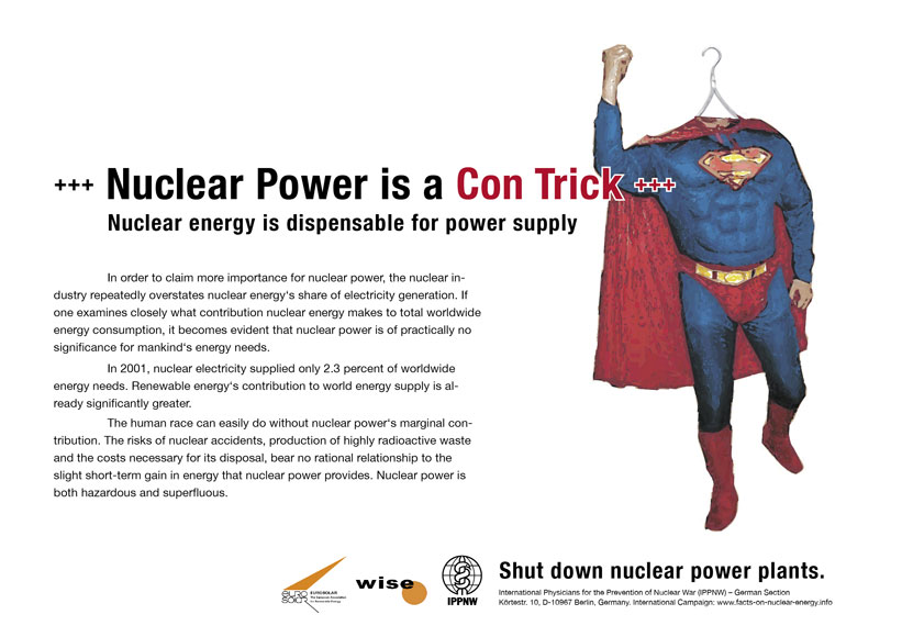 Nuclear Power is a Con Trick