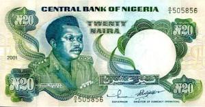 twenty naira note old