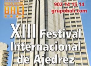 festival internacional ajedrez hotel bali